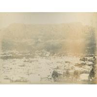 Vue sur la ville du Cap, la montagne de la Table à l'arrière-plan
