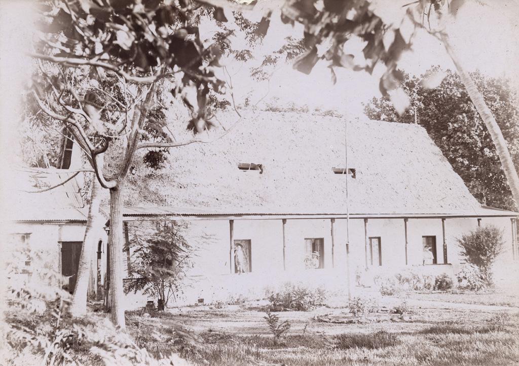 maison missionnaire de Rô à Maré