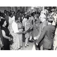 président Kaunda à Mindolo